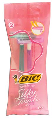View BIC RAZOR 2 PACK SILKY TOUCH