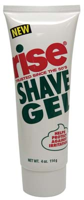 View RISE SHAVE GEL 4 OZ