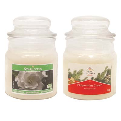 View CANDLE 3 OUNCE ASSORTED WHITE ** MADE IN USA **