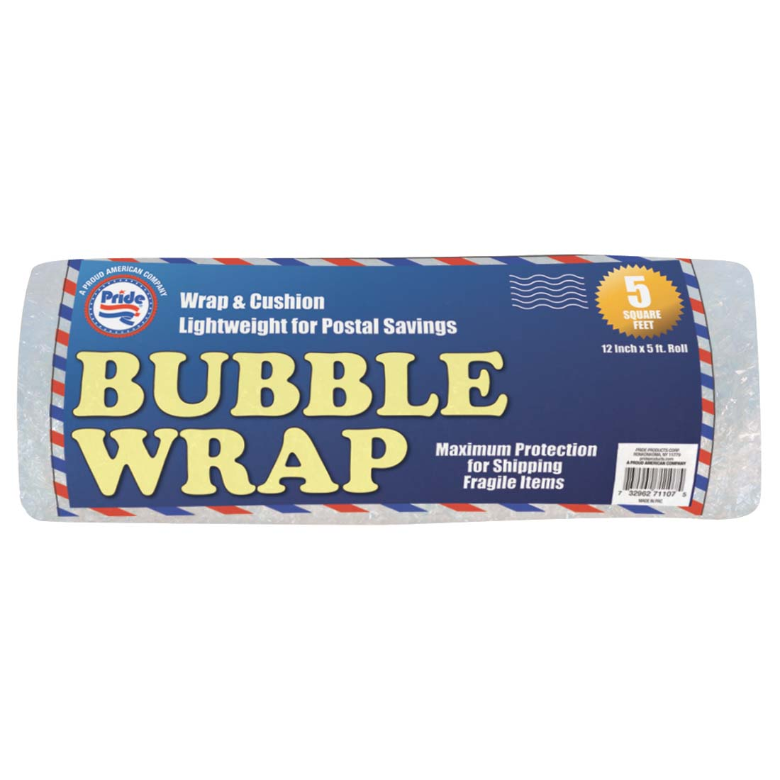 View BUBBLE WRAP ROLL 12 INCH X 5 FEET PERFORATED