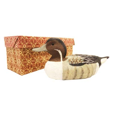 View DECORATIVE DUCK 6 INCH HAND PAINTED IN GIFT BOX
