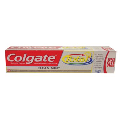 View COLGATE TOTAL TOOTHPASTE 7.8 OZ CLEAN MINT PASTE **MADE IN USA**