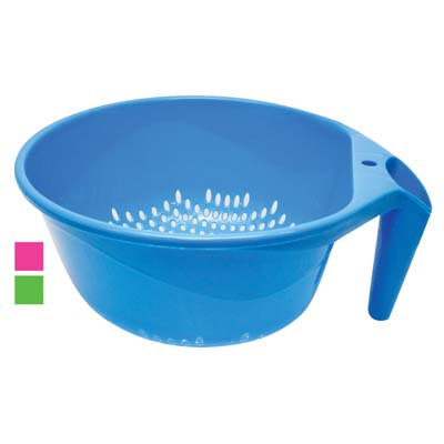 View COLANDER 8.5 INCH PLASTIC WITH HANDLE
