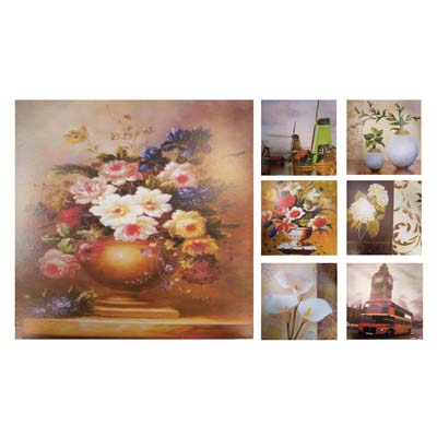 View WALL DECO PICTURE 10.5 X 10.5 INCH ASSORTED DESIGNS