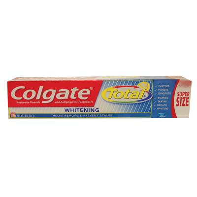 View COLGATE TOTAL TOOTHPASTE 7.8 OZ WHITENING GEL **MADE IN USA**