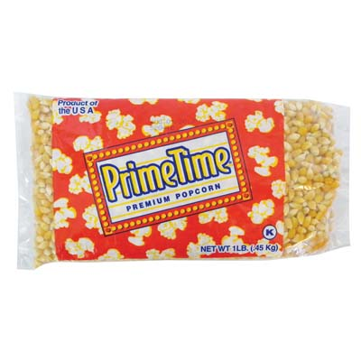 View PRIME TIME POPCORN KERNALS 1 LB BAG **MADE IN USA**