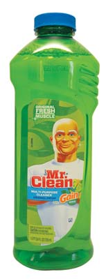 View MR. CLEAN MULTI PURPOSE CLEANER 24 OZ REFILL ORIGINAL FRESH WITH GAIN