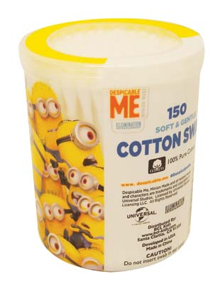 View COTTON SWABS 150 COUNT DISPICABLE ME