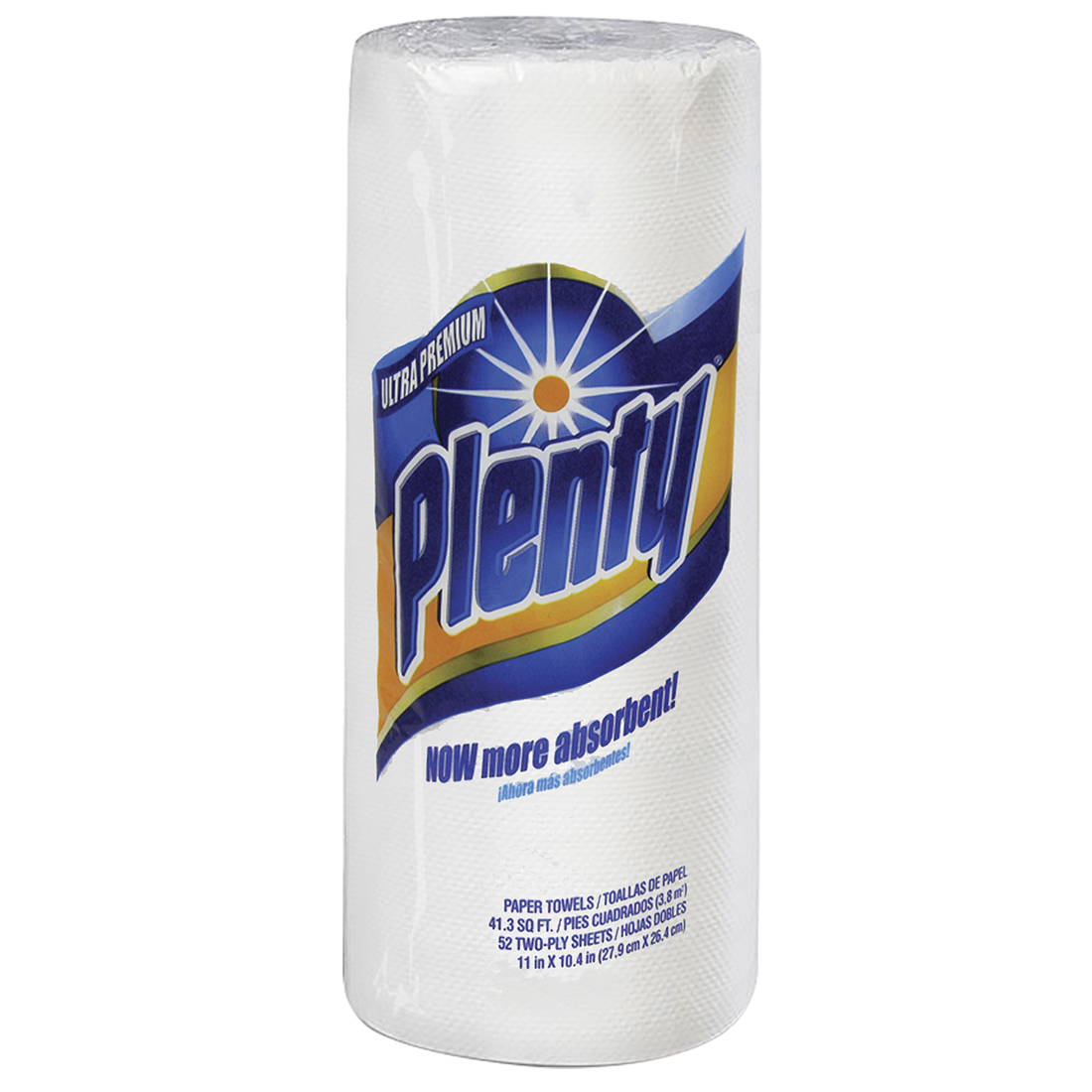 View PLENTY PAPER TOWELS 52-2 PLY SHEETS