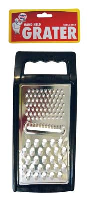 View HAND HELD GRATER 10 X 4.5 INCHES ASSORTED COLORS