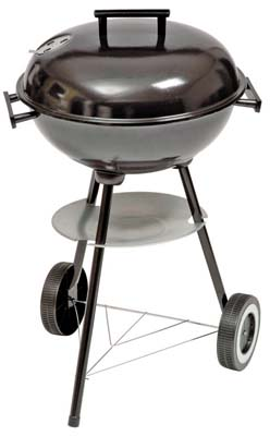 View BBQ CHARCOAL KETTLE 16 INCH ROUND WITH WHEELS