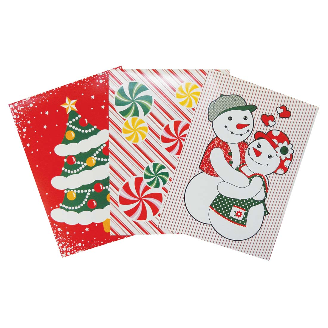 View CHRISTMAS GIFT BOX 3 PK 14.25 X 9.5 X 2 INCH MEDIUM ASSORTED DESIGNS