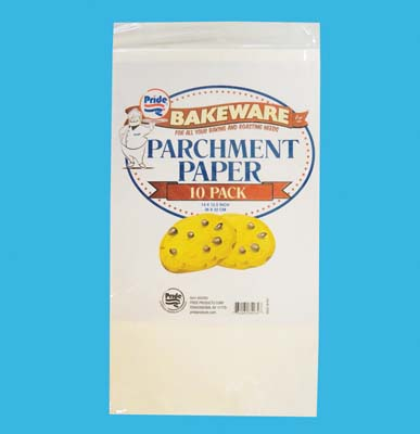 View PARCHMENT BAKING PAPER 10 PACK 14 X 12.5 INCH