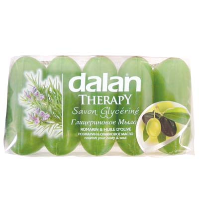 View DALAN BAR SOAP 5 PACK 2.46 OZ EACH ROSEMARY AND OLIVE OIL