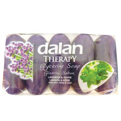 View DALAN BAR SOAP 5 PACK 2.46 OZ EACH LAVENDER AND THYME