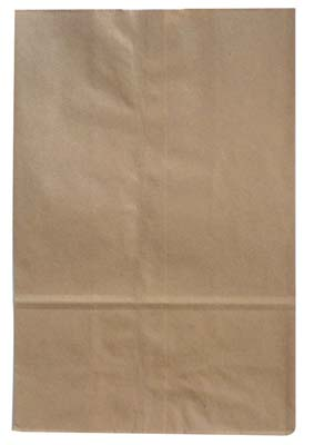 View BROWN PAPER BAG 1/6 500 PACK 12  X 6.5 X 17 INCH