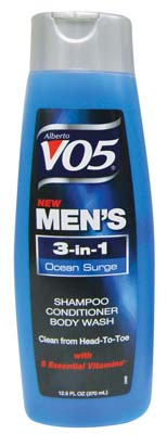 View VO5 MEN'S 3 IN 1 SHAMPOO/ CONDITIONER/BODY WASH 12.5 OZ OCEAN SURGE (MADE IN USA) *MUST BUY 2*