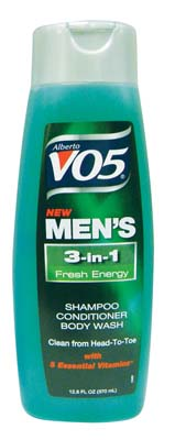 View VO5 MEN'S 3 IN 1 SHAMPOO/ CONDITIONER/BODY WASH 12.5 OZ FRESH ENERGY *MUST BUY 2* (MADE IN USA)