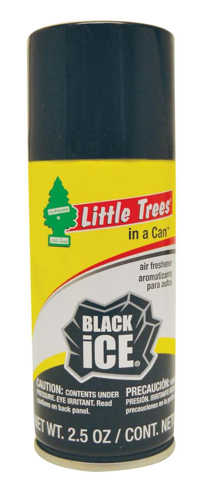View LITTLE TREES AIR FRESHENER 2.5 OZ BLACK ICE **MADE IN USA**