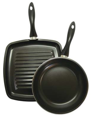 View GIBSON COOKWARE SET 2 PC INCLUDES FRY PAN 9 INCH & GRIDDLE 11 INCH NON-STICK