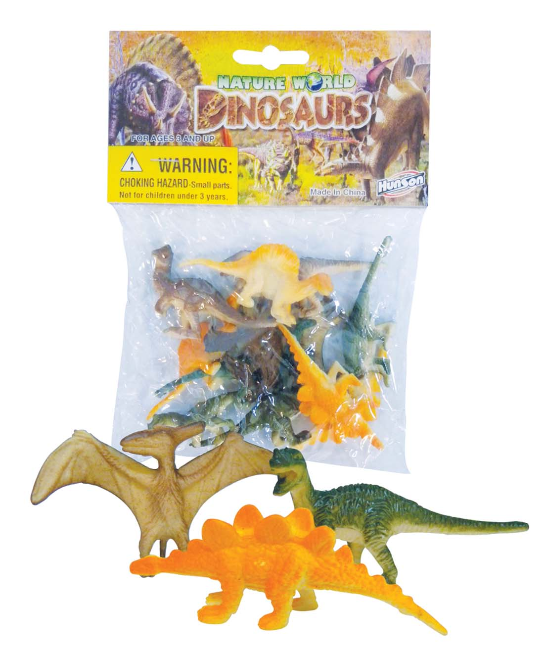 View DINOSAURS PLASTIC  1-2 INCHES 12 PACK  ASSORTED