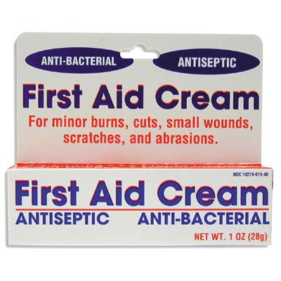View FIRST AID CREAM 1 OZ ANTISEPTIC