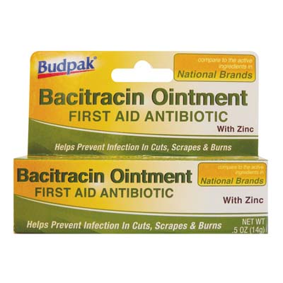 View BACITRACIN OINTMENT 0.50 OZ WITH ZINC