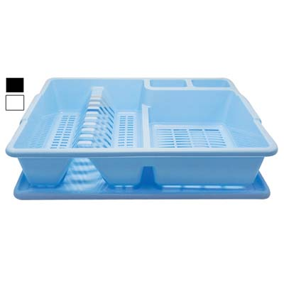 View DISH DRAINER 17.5 X 14 X 3 INCH WITH TRAY