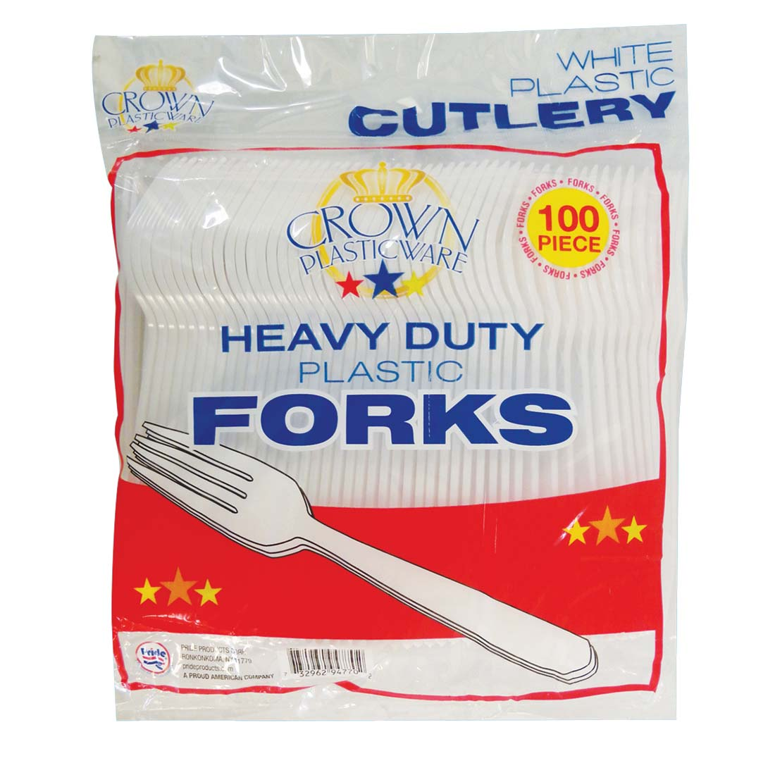 View PLASTIC CUTLERY 100 COUNT FORK