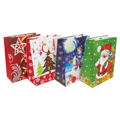 View CHRISTMAS GIFT BAG 19.5 X 16 X 7.5 INCH GIANT