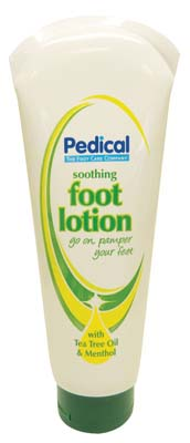 View PEDICAL FOOT LOTION 8.5 OZ WITH TEA TREE OIL & MENTHOL