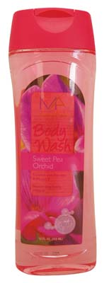 View BODY WASH 12 OUNCE SWEET PEA ORCHID
