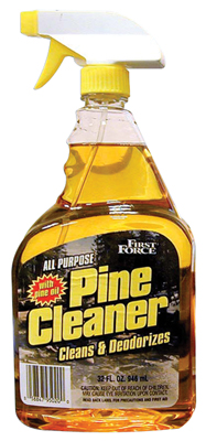 View FIRST FORCE CLEANER 32 OZ PINE