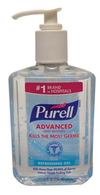 View PURELL HAND SANITIZER 8 OZ WITH PUMP ORIGINAL **MADE IN USA**