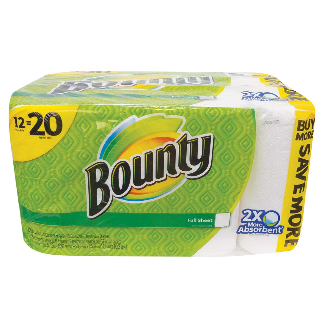 "View BOUNTY PAPER TOWELS 12 PACK 67-2 PLY SHEETS ""NOT INDIVIDUALLY WRAPPED"" **LIMIT 20**"