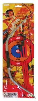 View ARCHERY SET 5 PIECE 15 INCHES